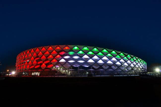 ملعب هزاع بن زايد الذي سيحتضن أول لقاءات الترجي الرياضي التونسي بكأس العالم للأندية الإمارات 2018. صورة : موقع الفيفا كأس العالم للأندية