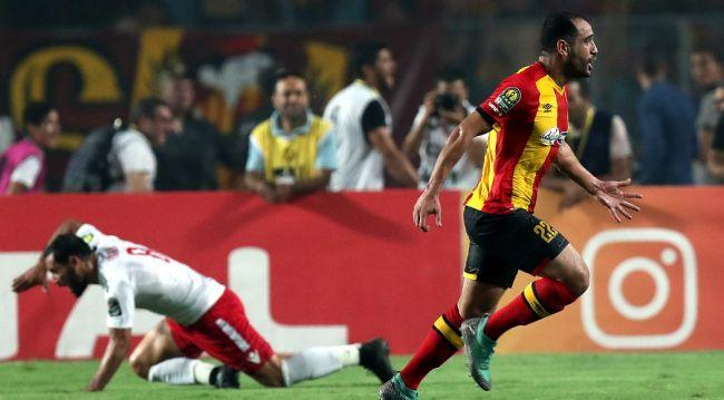 Sameh Derbali Homme du Match SG - EST. (Photo : AFP)