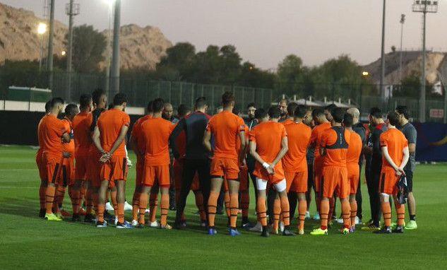 Les Sang et Or à l'entraînement à Al Ain à deux jours de leur premier match en Coupe du Monde des Clubs Fifa 2018. (Photo Orange Foot)