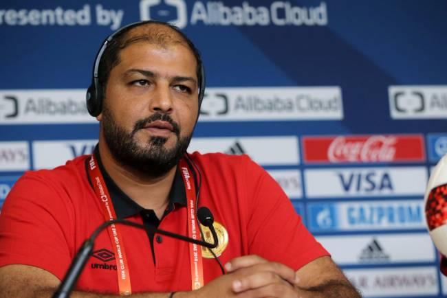 معين الشعباتي : فخورون بتواجدنا في الإمارات ومشاركتنا في كأس العالم للأندية. صورة | مجلس أبو ظبي الرياضي