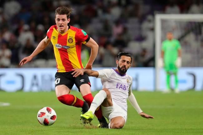 Aymen Ben Mohamed plébiscité Homme du Match EST - AFC. Photo | thenational.ae