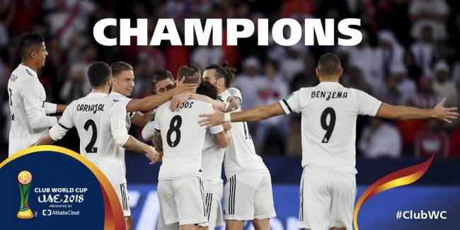 Le Real Madrid remporte la Coupe du monde des clubs aux dépens d'Al Ain FC. (Photo Fifa.com)
