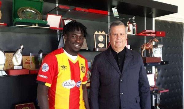 Junior Lokosa nouvelle recrue sang et or. (Photo Eko_Football)