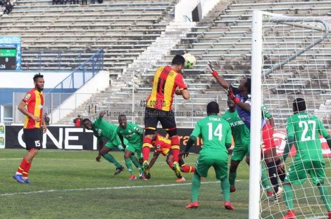 Taha Yassine Khenissi scored twice to offer Esperance victory over FC Platinum. Photo | est.org.tn