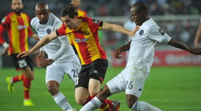 Orlando Pirates and Esperance de Tunis draw 0 - 0 at Orlando Stadium. Getty Images