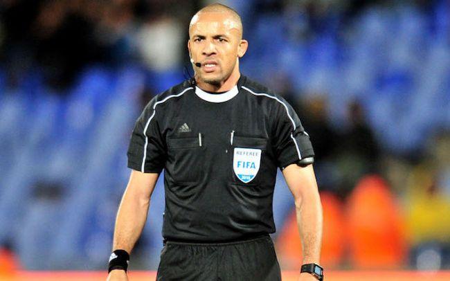 Helder Martins de Carvalho, arbitre angolais du match face à Horoya AC en Ligue des champions. (Photo footalgerien.com)
