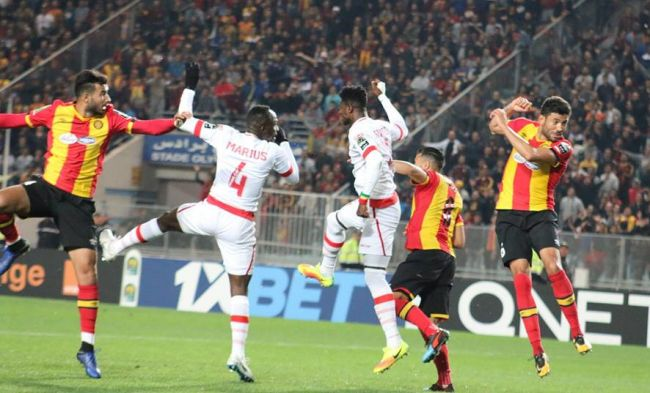 Esperance of Tunisia first qualifiers for the CAF Champions League quarter-finals. Photo | est.org.tn