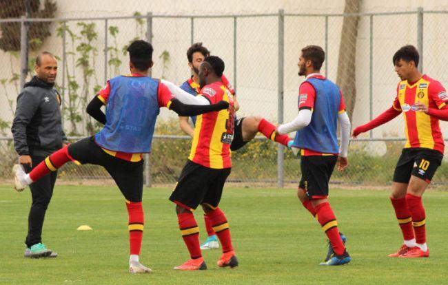 Large victoire des Sang et Or contre AS Soukra en amical. (Photo est.org.tn)