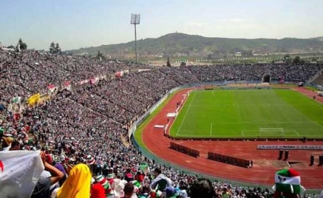 Stade Chahid-Hamlaoui de Constantine. (Photo dzfoot.com)