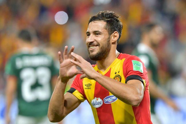 Youcef Belaïli sélectionné pour la CAN Egypte 2019. (Photo AFP)