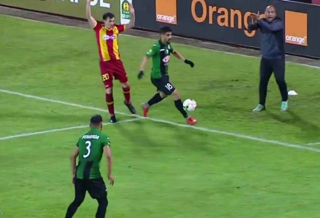 Esperance de Tunis playing CS Constantine in Algeria. Photo | lemaghrebdz.com