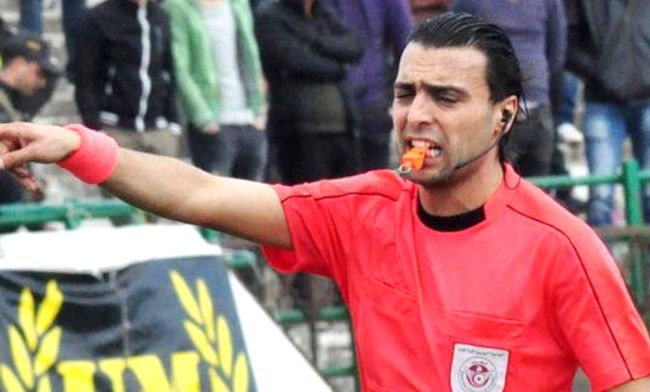L'arbitre Naïm Hosni désigné pour le match face au CS Sfaxien. (Photo letemps.com.tn)