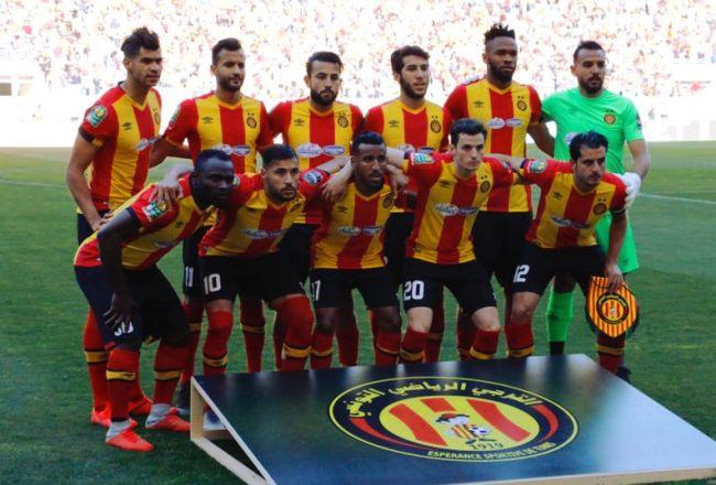 Le onze ayant disputé le match face à TP Mazembe, le 27 avril 2019 à Radès. (Photo espacemanager.com)
