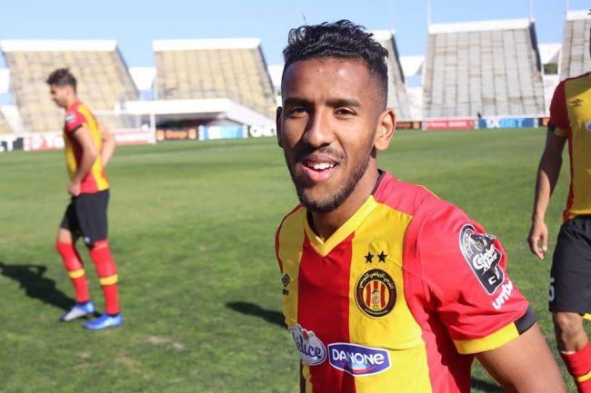 Hamdou Elhouni blessé face à TP Mazembe doit observer 2 semaines de repos. (Photo est.org.tn)