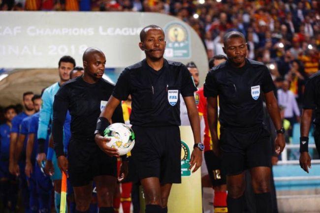 L'arbitre éthiopien Bamlak Tessema Weyesa désigné pour le prochain match de l'Espérance en Ligue des champions (Photo @Caf_Champions)