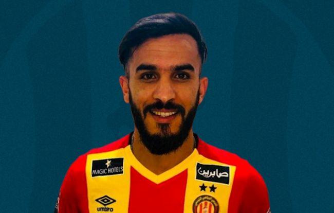 Le défenseur central algérien Abdelkader Bedrane, joueur de l'ES Sétif, est désormais sang et or pour 3 ans (Photo est.org.tn)