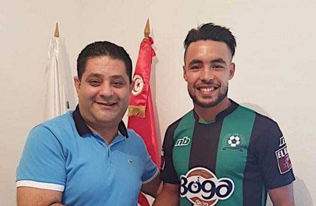 Aymen Mahmoud prêté à l'AS Soliman (Photo Dimanche Sport)