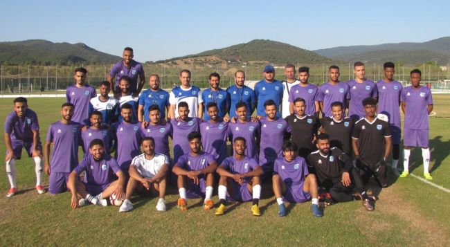 La formation saoudienne d'Al Nahdah FC en stage de préparation en Tunisie. (Photo @Al_NahdahFC)