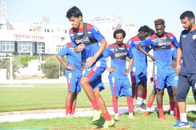 Saâd Bguir et son nouveau club Abha FC disputeront une rencontre amicale face l'Espérance. (Photo @AbhaFC)