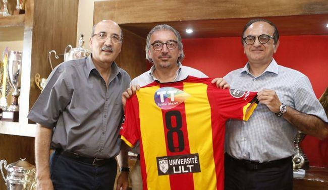 L'ULT s'associe avec le sport et signe un accord avec l'Espérance de Tunis. (Photo Bouebdelli Karim)