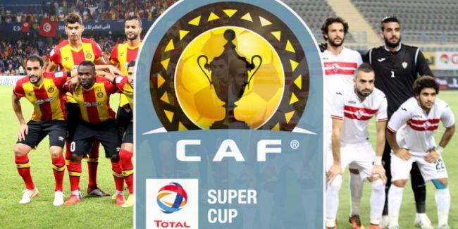 L'Espérance de Tunis sera opposée au Zamalek d'Egypte en Supercoupe d'Afrique 2019.