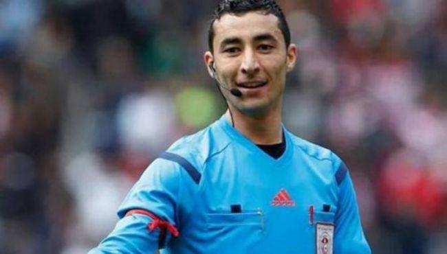 L'arbitre Amir Loucif désigné pour le match face à l'US Tataouine. (Photo FTF)
