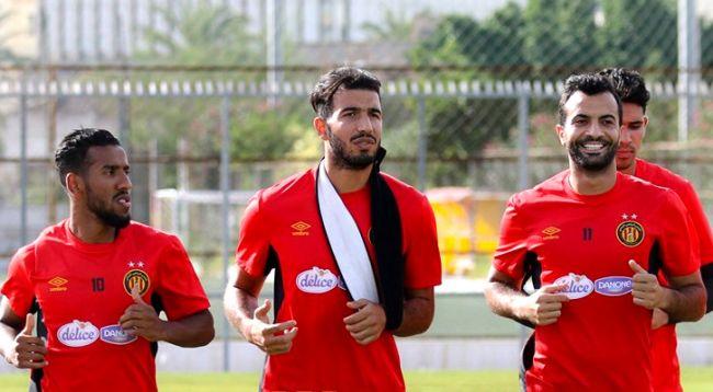 Haythem Jouini, blessé à l'épaule, sera contraint au repos. (Photo est.org.tn)