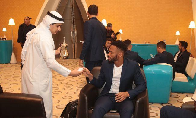 Les Sang et Or arrivés à Doha pour disputer la Coupe du Monde des clubs Fifa Qatar 2019. (Photo @roadto2022)