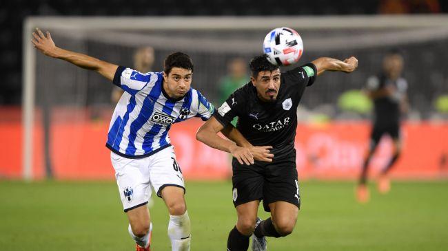 Le buteur Baghdad Bounedjah et son club Al Sadd SC affronteront l'Espérance de Tunis en match de classement de la Coupe du Monde des clubs de la Fifa Qatar 2019. (Getty Images)