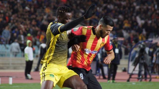 Esperance de Tunis held to an unexpected home barren draw by visitors AS Vita Club. Photo | CAF Online