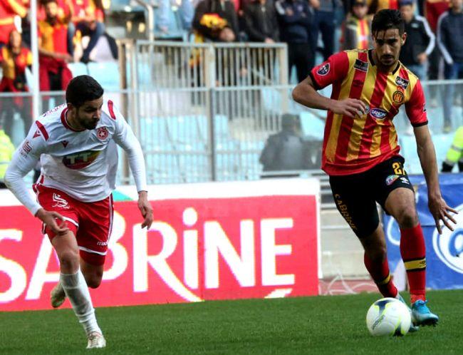 L'Espérance de Tunis s'impose une nouvelle fois face à l'Etoile du Sahel au stade de Radès. (Photo est.org.tn)