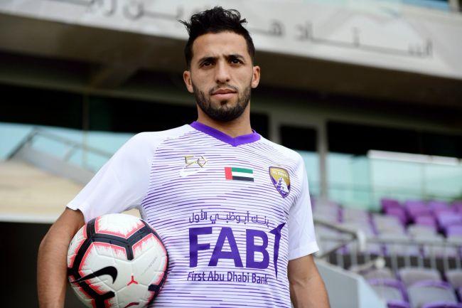 L'Algérien Abderrahmane Meziane quitte Al Ain FC pour l'Espérance de Tunis. (Photo @alainfcae)