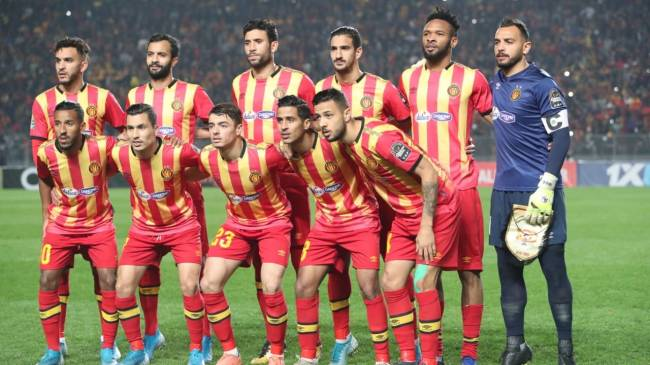 Espérance de Tunis are currently second in continental club rankings. Photo | CAF Online
