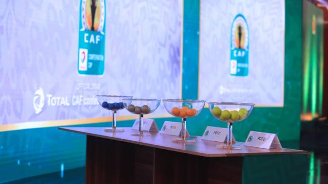 The draw of the knockout stages of CAF interclub competitions is scheduled for next Wednesday. Photo | CAF Online
