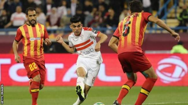 Esperance and Zamalek lock horns in CAF Champions League quarter-finals. Photo | Getty Images