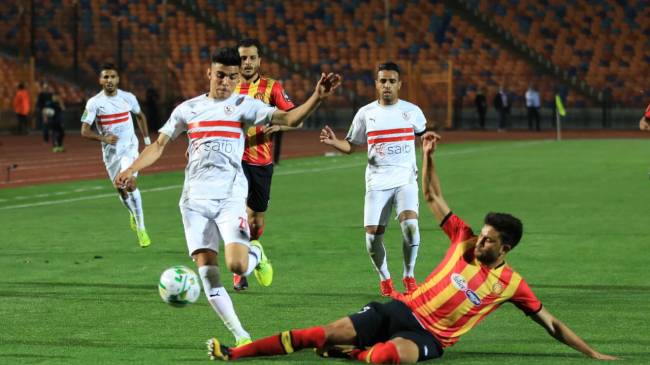 ZSC - EST (3 - 1). The return leg takes place in Rades next Friday with the aggregate winner reaching the semifinals. Photo   CAF Online