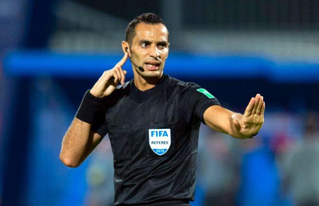 L'arbitre international algérien Mustapha Ghorbal désigné pour officier la manche retour des quarts de finale de la Ligue des champions de la CAF 2020 entre l'Espérance et le Zamalek à Radès (Getty Images)