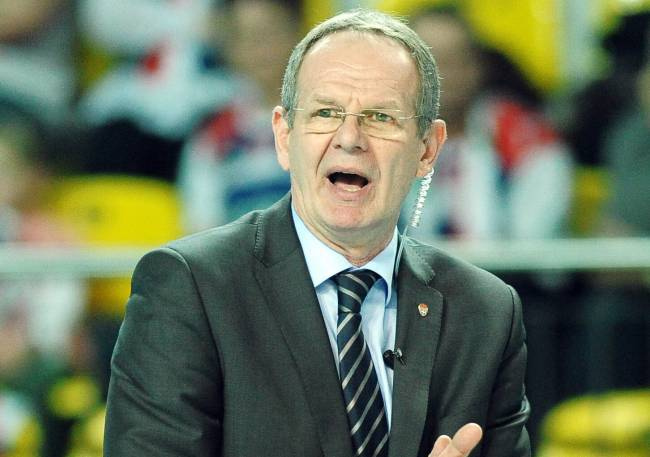 Ljubomir Travica, Esperance's new volleyball team coach. Photo | sportdziennik.com