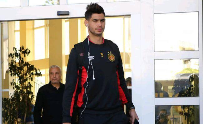 Chamseddine Dhaouadi quitte l'Espérance de Tunis pour le club qatari d'Al Shamal SC. (Photo est.org.tn)
