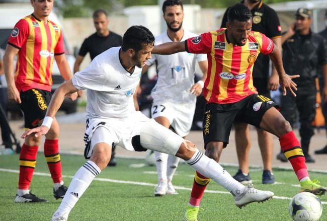 La tâche a été plus facile que prévu face au CS Chebba en Coupe de Tunisie pour Hamdou Elhouni et ses coéquipiers. (Photo est.org.tn)