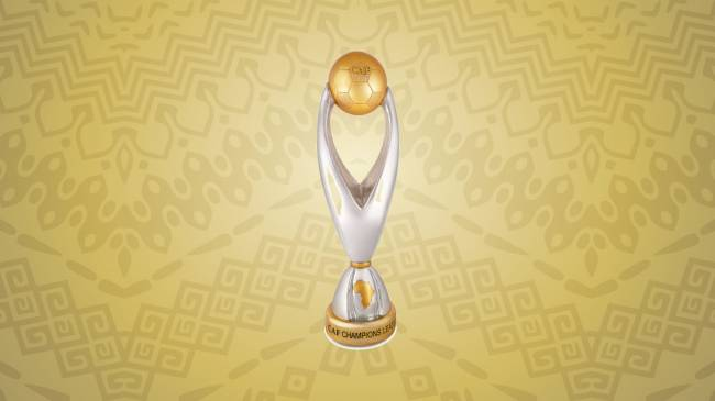 CAF Champions League trophy. Photo | CAF Online