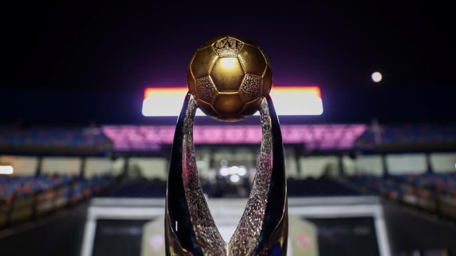 CAF CL trophy. Photo | CAF Online