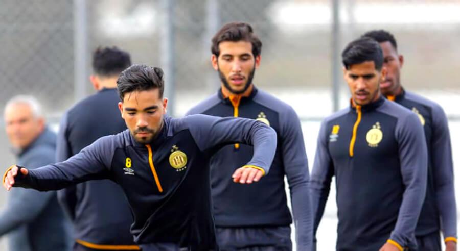Troisième semaine de préparation pour les Sang et Or avant d'affronter Al Ahly en demi-finale de la Ligue des champions. (Photo est.org.tn)