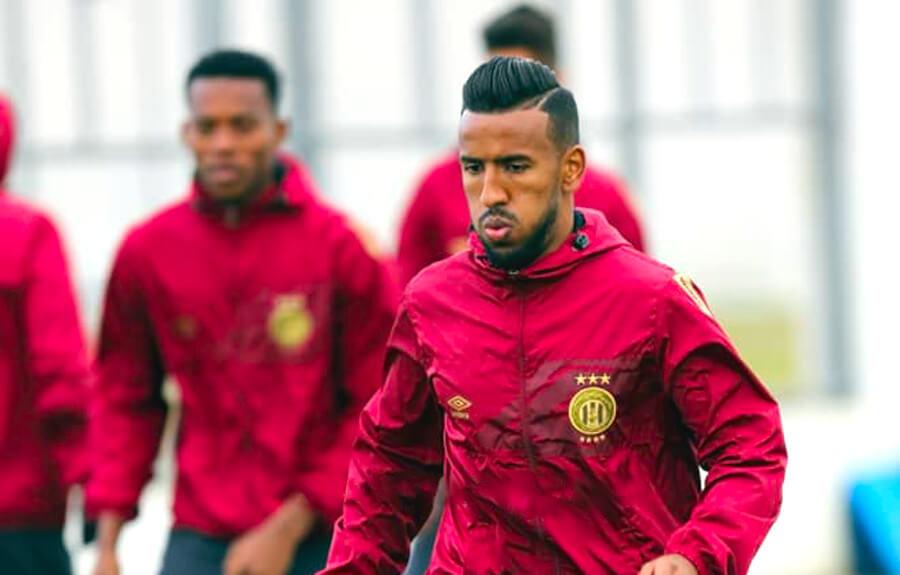 Hamdou Elhouni et ses coéquipiers sont désormais prêts à défier le CS Sfaxien au stade Taïeb Mhiri. (Photo est.org.tn)