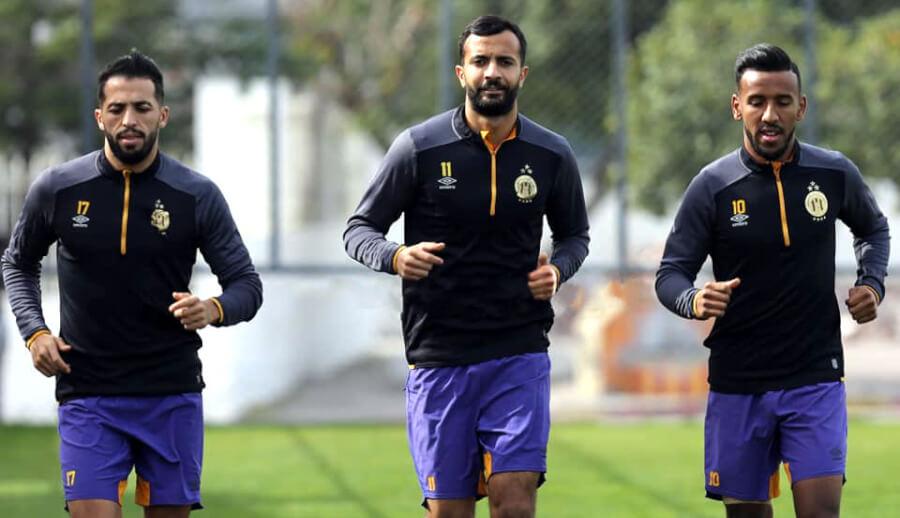 Meziane, Khenissi et Elhouni sont à la disposition du staff technique pour le prochain match face à la JS Kairouanaise. (Photo est.org.tn)