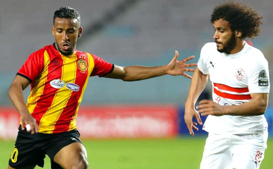 Esperance beat Zamalek 3 - 1 in Rades. Photo | est.org.tn
