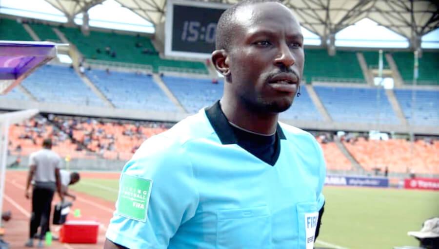 L'arbitre international Camerounais Blaise Yuven Ngwa désigné pour la match face à Teungueth FC (Photo actucameroun.com)