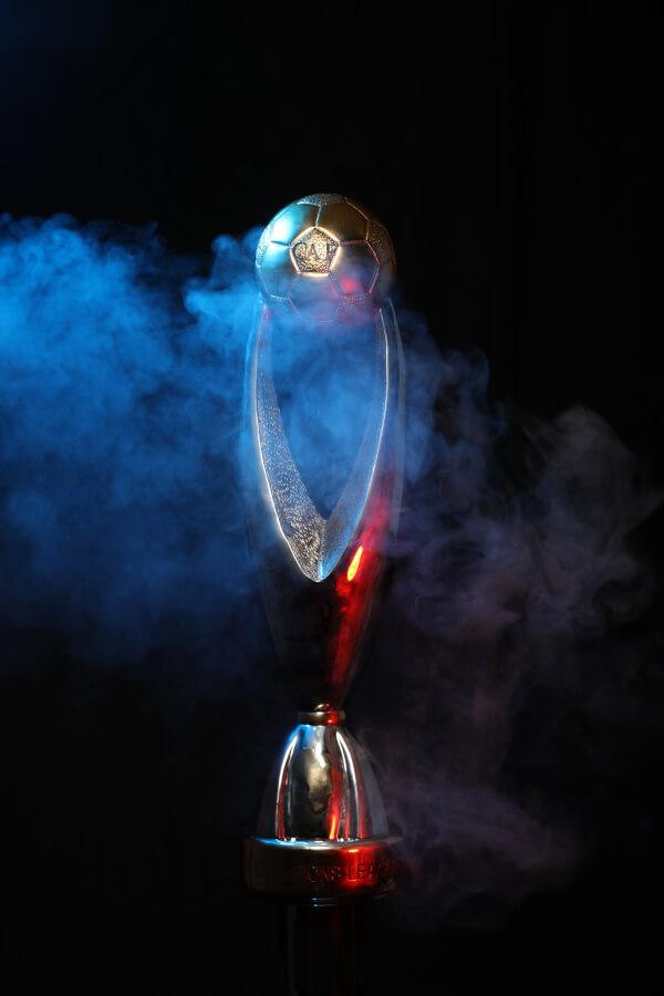 CAF Champions League trophy. Photo | CAF Online