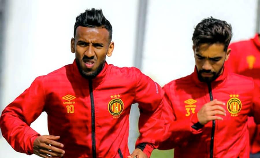 Blessé, Hamdou Elhouni ratera le match de demain face au CS Sfaxien et sera remplacé par Farouk Mimouni. (Photo est.org.tn)