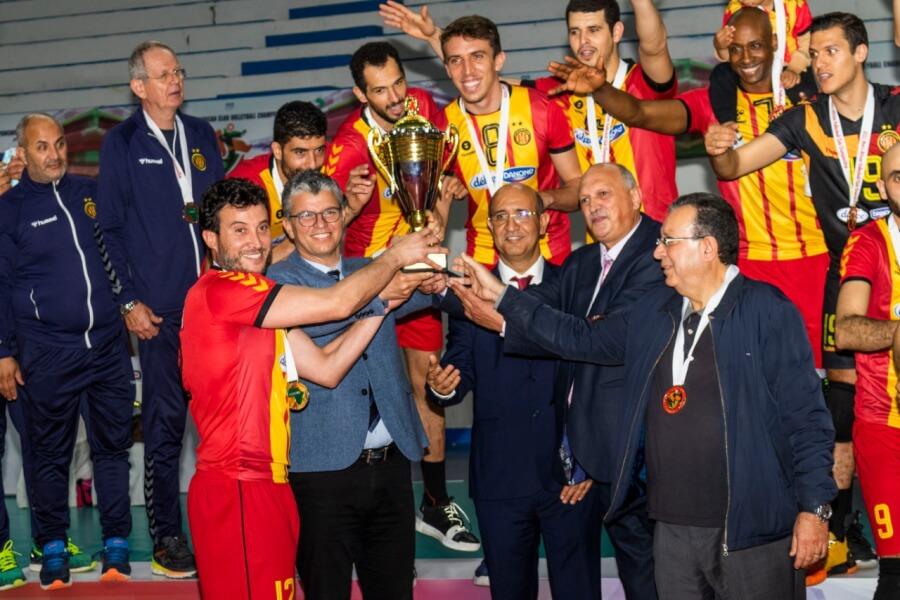 African Champions Esperance of Tunisia. Photo | CAVB